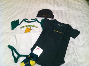 Ducks onesie