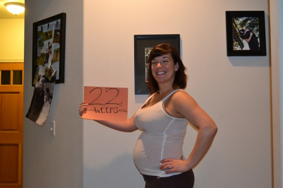 22 Week Belly