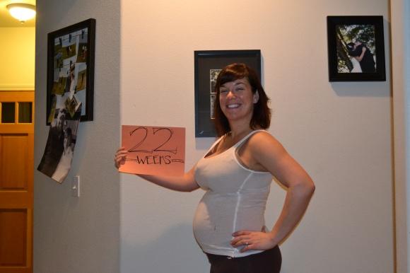 22 Week Belly