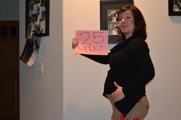 25 week belly