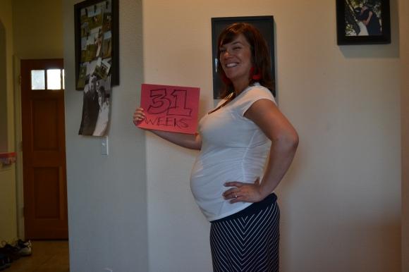 31 Week belly