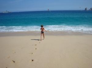 My beach body, pre-baby