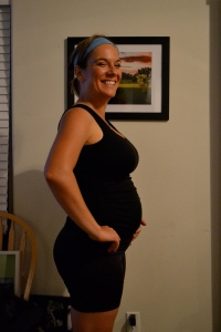 17 Weeks and a hot sweaty mess