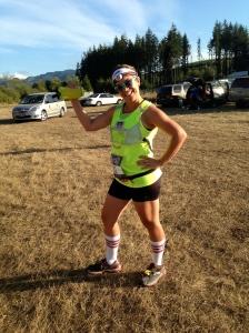 14 Weeks  and running 13.2 miles. No big.